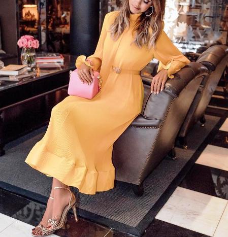 Летнее платье в пол —  15 стильных вариантов лета 2018