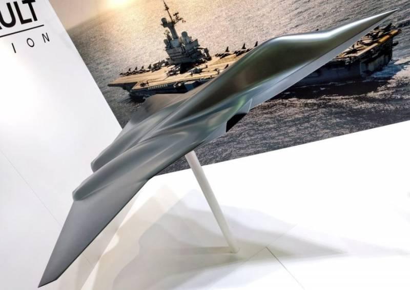 Компания Dassault представила истребитель нового поколения