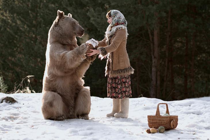 Сказочные фотографии с животными