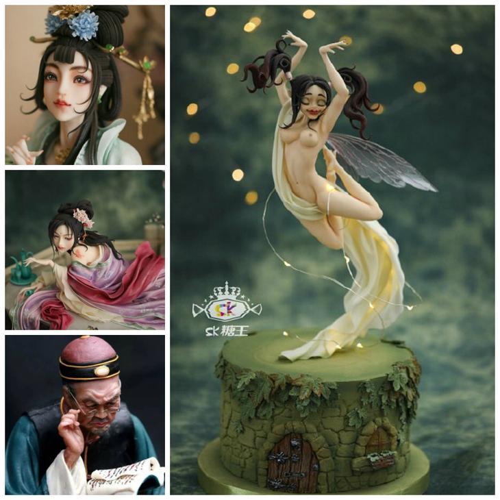Сладкое искусство «Сахарного Короля» Чжоу Йи (Zhou Yi)