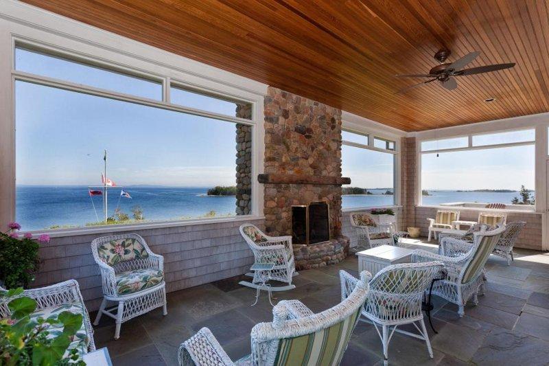 Osprey Nest включает солнечную комнату, откуда открывается захватывающий вид на океан... Каулбек, в мире, красота, остров, природа