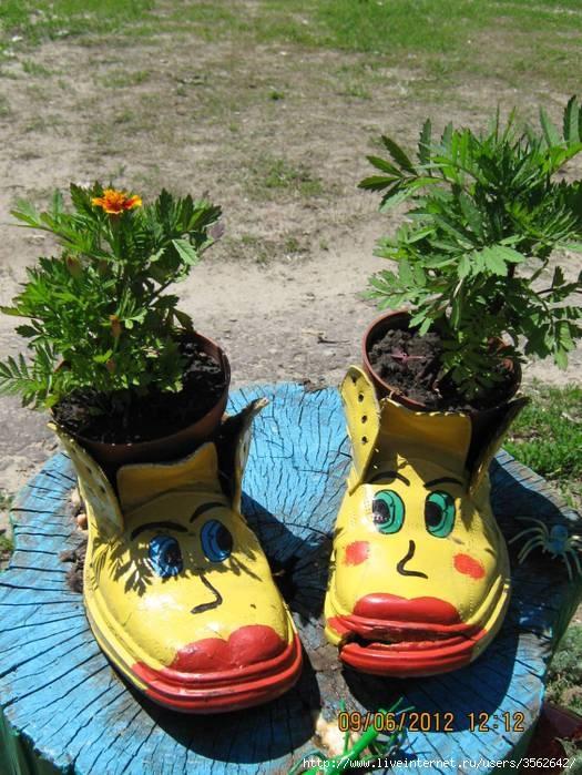 Украшаем свой садовый участок своими руками