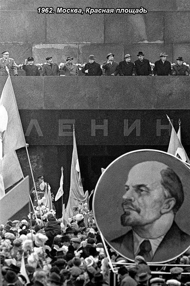 Значительное из жизни СССР в фотографиях Юрия Абрамочкина