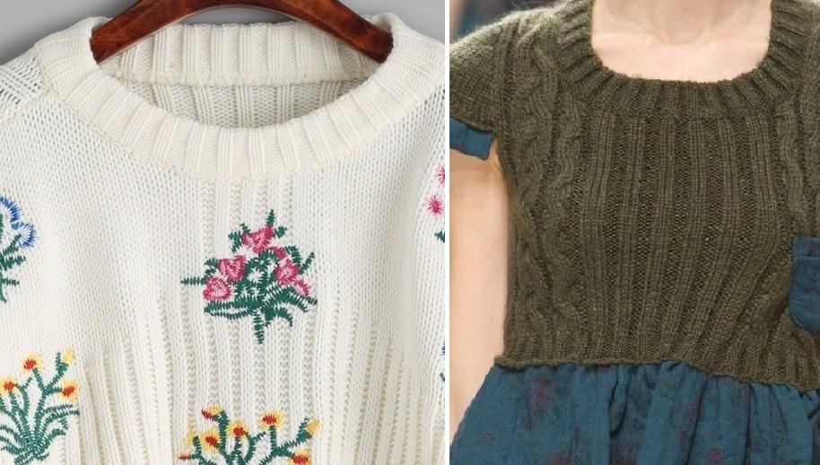 Не знаете куда деть старый свитер? Сшейте из него что-нибудь полезное