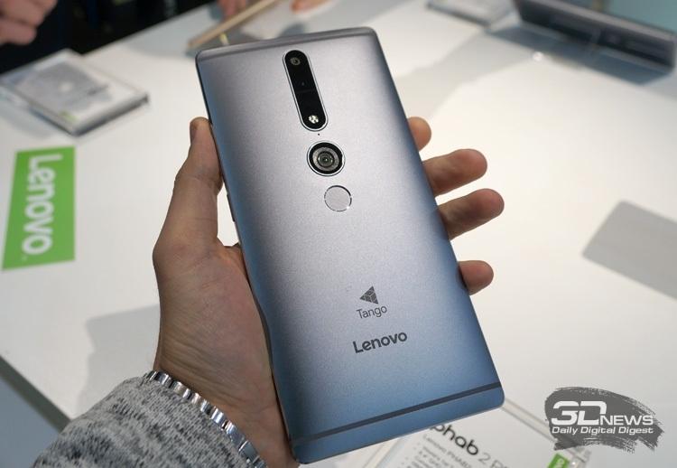 Продажи Lenovo Phab 2 Pro стартовали в ноябре