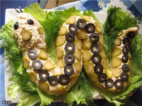 Салат дракон рецепт новогоднего салата 2012
