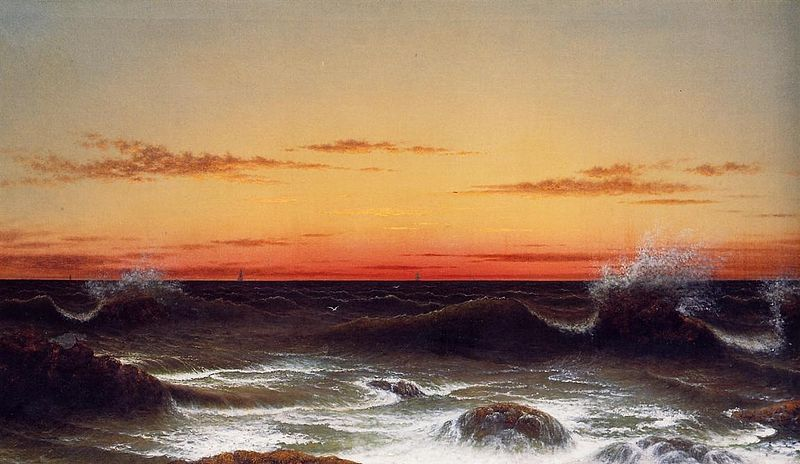 File:Seascape - Sunset.jpg