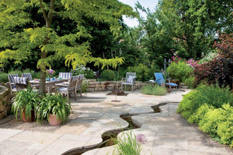 ИНТЕРЕСНАЯ ИДЕЯ: Ручей в саду