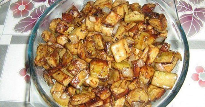 Необычный рецепт приготовления баклажанов: блюдо с изюминкой!