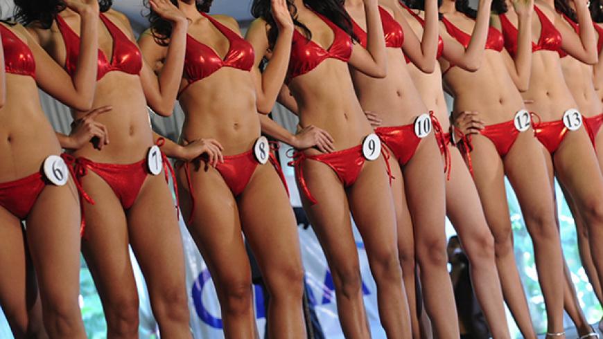 На конкурсе «Мисс Америка» о…