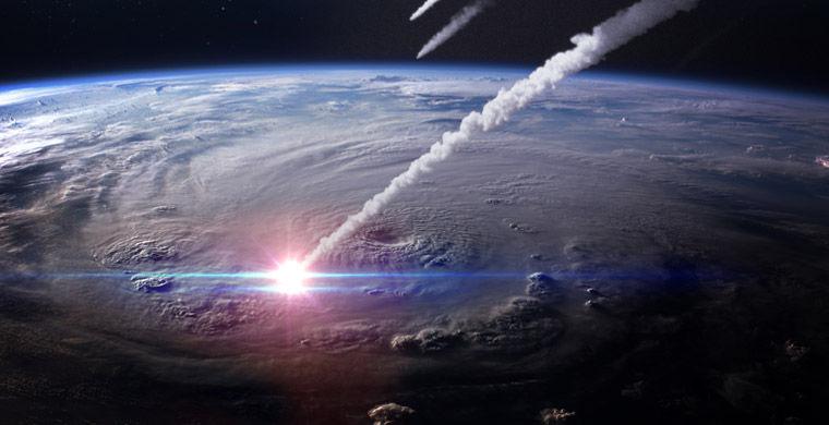 Пассажиров в аэропорту Хитроу напугал яркий метеор