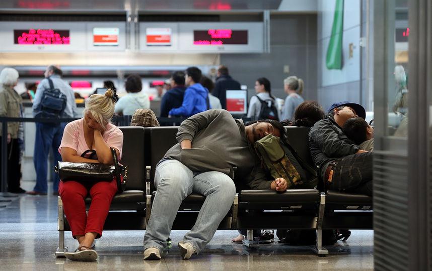 В подмосковных аэропортах за…