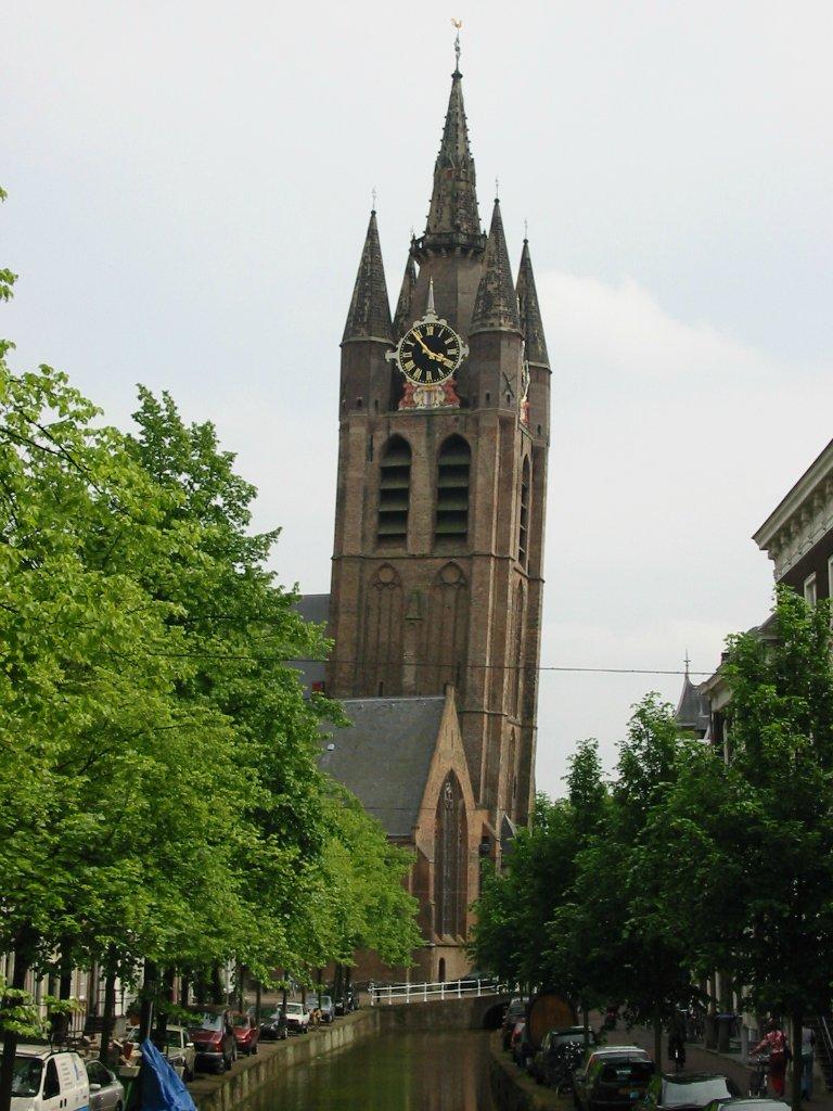 9. Церковь Oude Kerk, Нидерланды