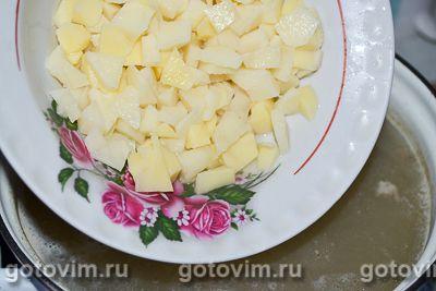 Гороховый суп на рассоле, Шаг 05