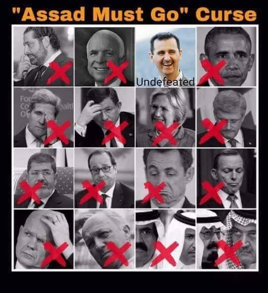 Assad must go! McCain Edition
