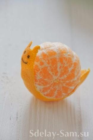 Апельсины к новогоднему столу