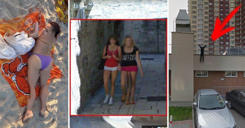 Неожиданные находки на Google Maps (22 фото)