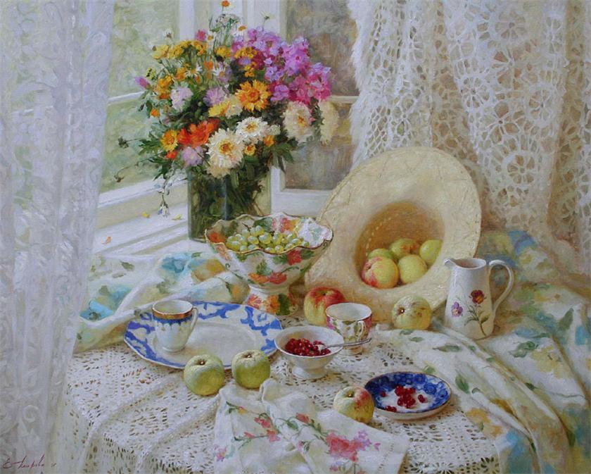 Натюрморты в живописи: любуйтесь и учитесь;)