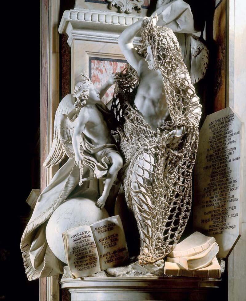 Люди не могут поверить, что сделанная итальянским мастером скульптура полностью выполнена из мрамора