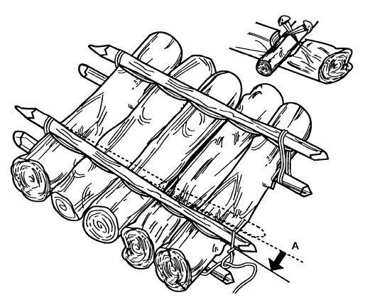 Как построить плот