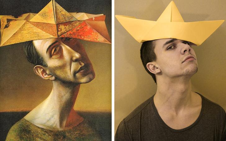 20новых версий известных картин, откоторых Микеланджело иДаВинчи былибы вшоке