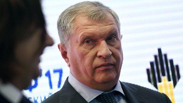 Сечин назвал влияние на выборы целью антироссийских санкций