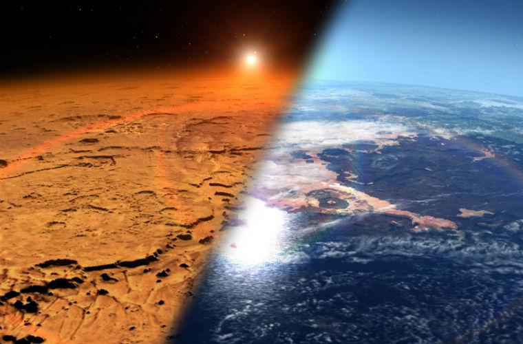 """Сделай сам: NASA планирует """"надышать"""" атмосферу на Марсе"""