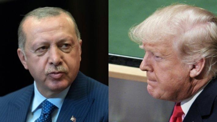 Трамп и Эрдоган договорились совместно взять под контроль ситуацию в Сирии
