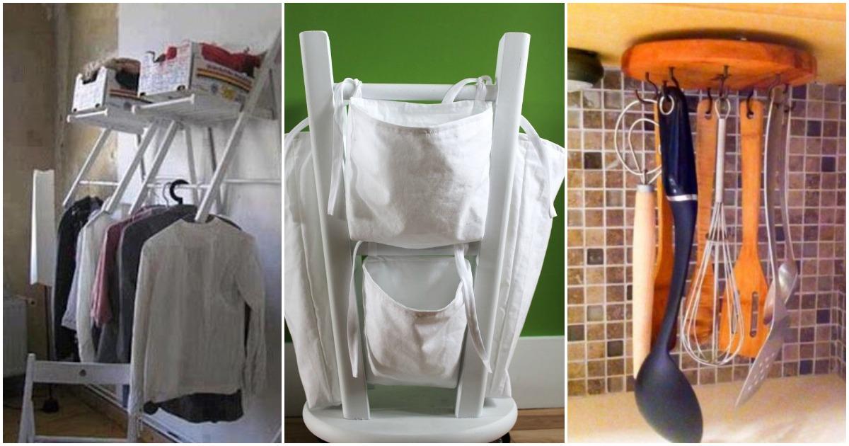 Лайфхаки с мебелью: нестандартные варианты использования, добавляющие функциональности