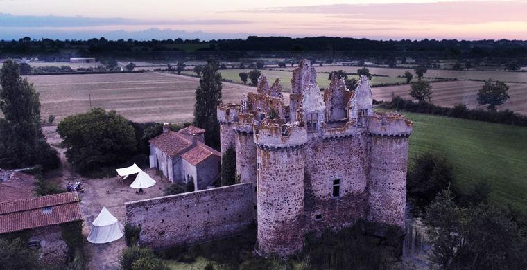 Кусочек средневекового замка…