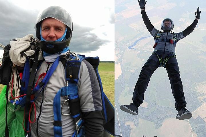 52-летний житель Подмосковья выжил после неудачного прыжка с парашютом