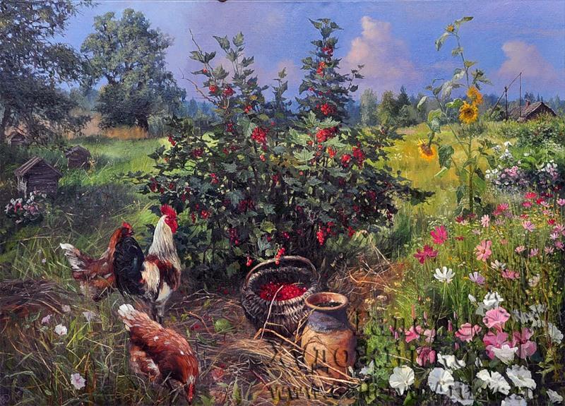 Жданов Владимир. В деревне