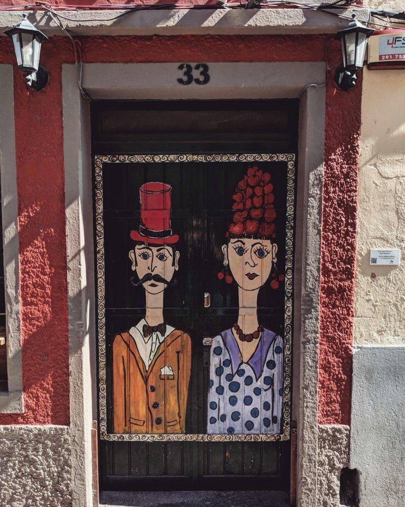 21. дверь, картина, мадейра, португалия, путешествие, фотография, фотомир