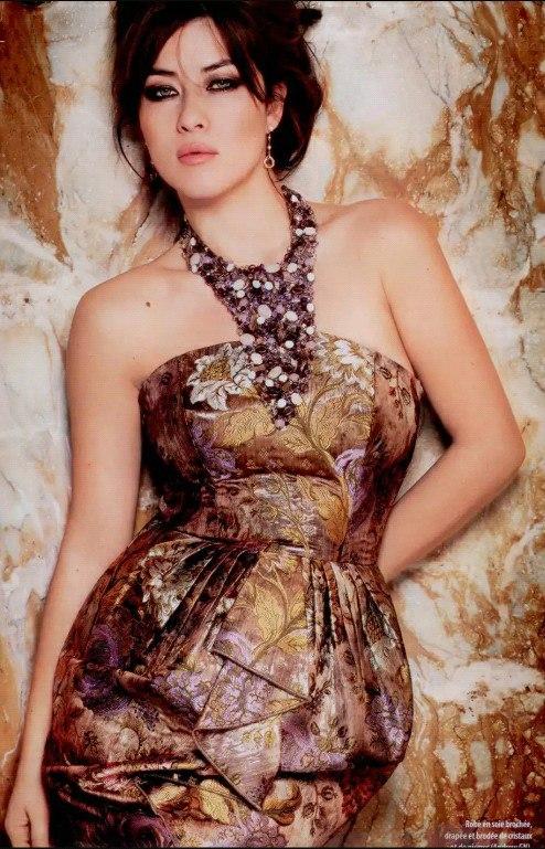 Милен Джампаной (Mylène Jampanoï) – популярная французская актриса