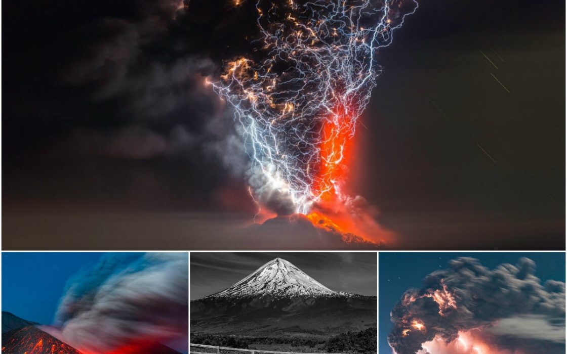 Вулканы Чили на снимках Фран…