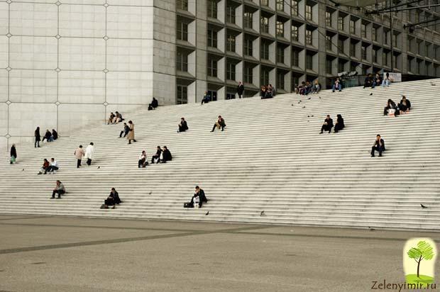 Большая арка Дефанс в Париже – современный вариант Триумфальной арки - 8