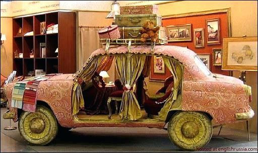 И старые авто превращаются в ...