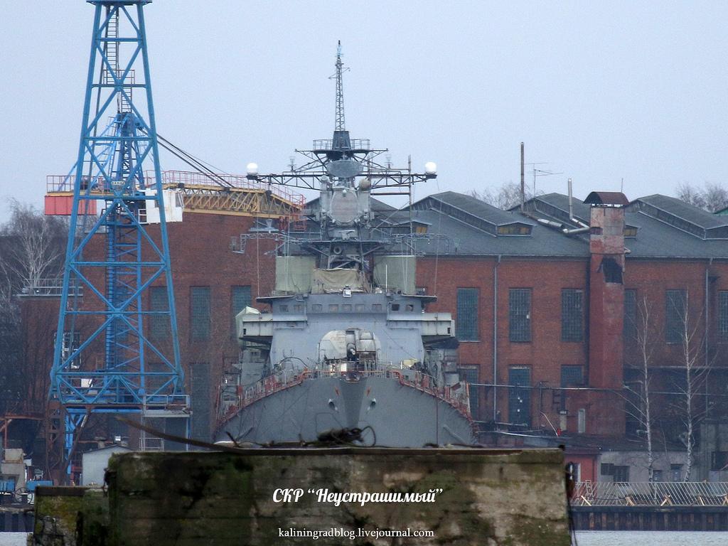 Сторожевой корабль «Неустрашимый» завершит ремонт в 2019 году