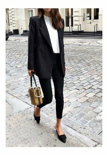 4 идеи красиво носить черно-белую классику, чтобы угодить и моде, и дресс-коду