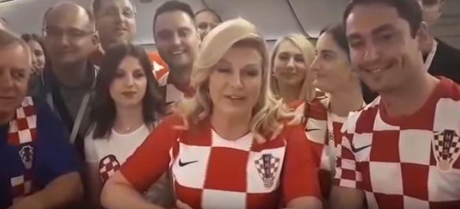 Глава Хорватии поблагодарила…