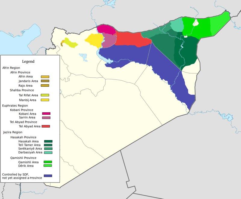 Пост-американское будущее сирийских курдов