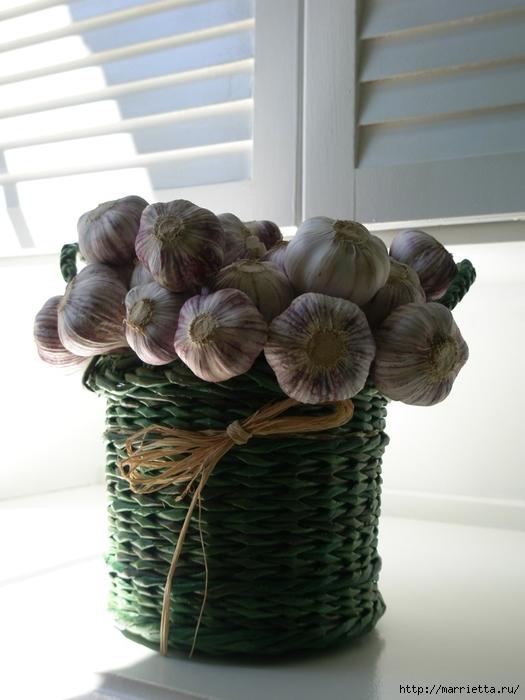 Плетение из газет. Идеи и мастер-класс на донышко плетенки (22) (525x700, 205Kb)