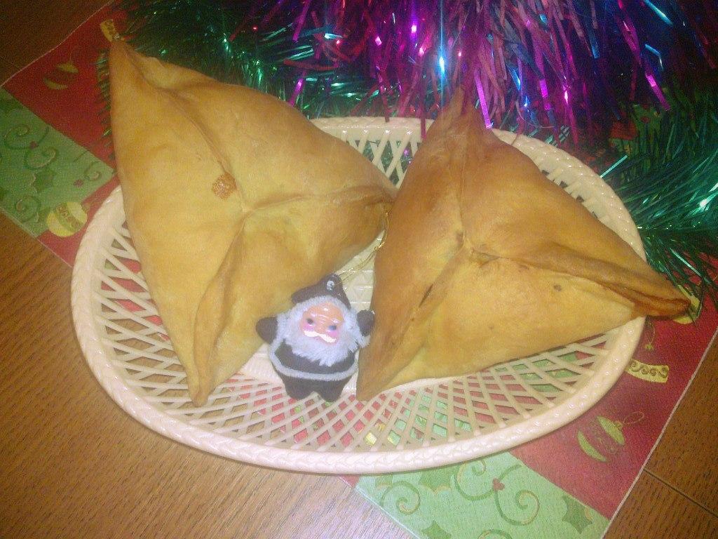 Треугольники-өчпочмак (татарская кухня)