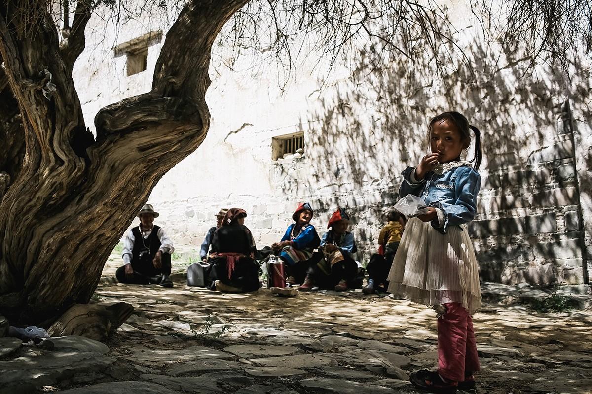 shigadze10 В поисках волшебства: Шигадзе, резиденция Панчен ламы и китайский рынок