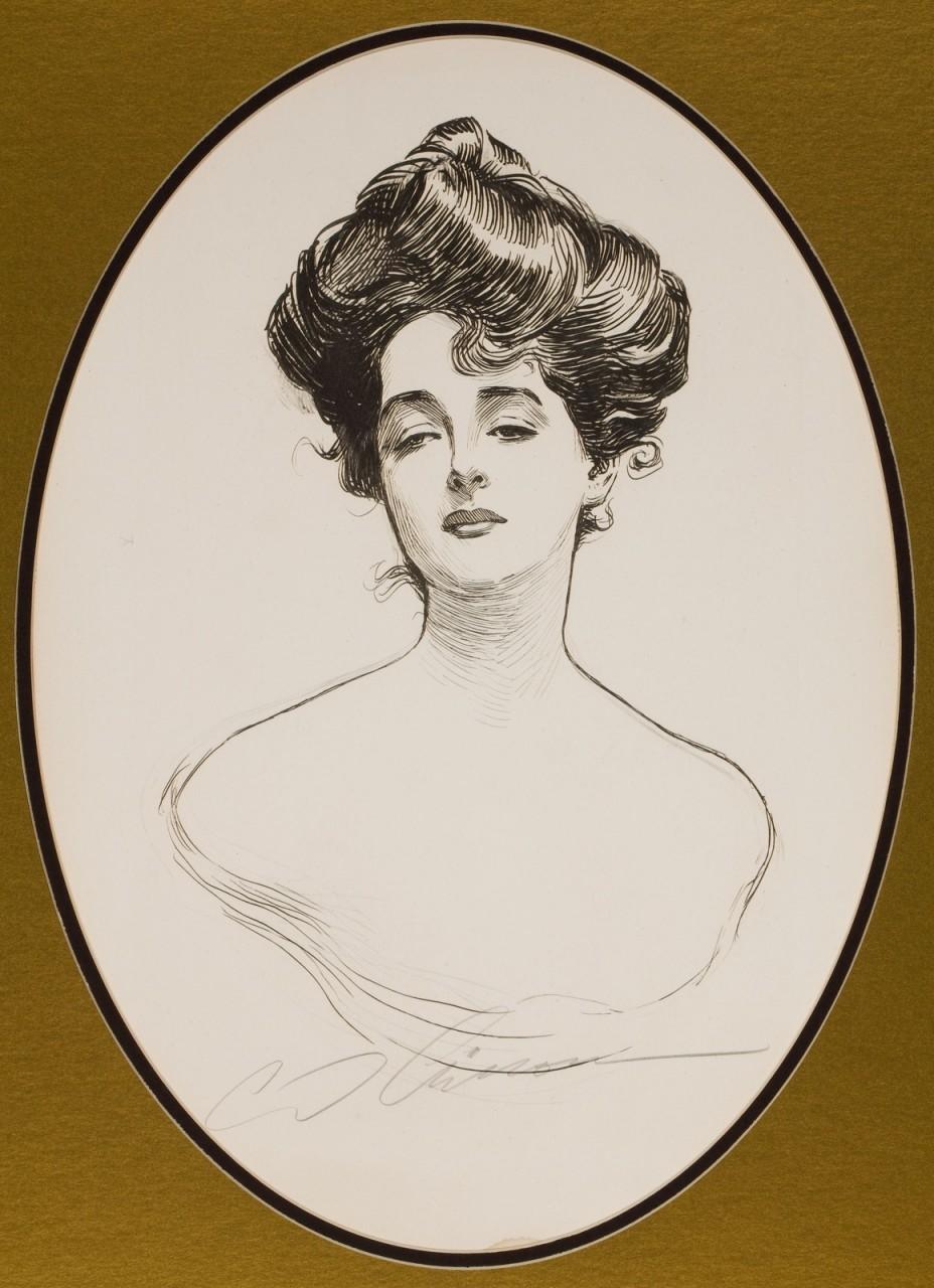Чарльз Дана Гибсон (Charles Dana Gibson), 1867-1944 его картины