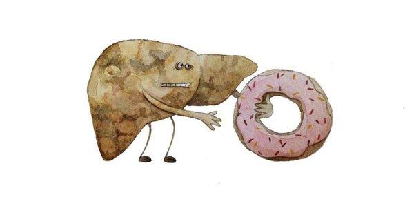 Вредные продукты бьют по печени
