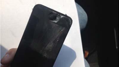 iPhone 5 взорвался при разговоре