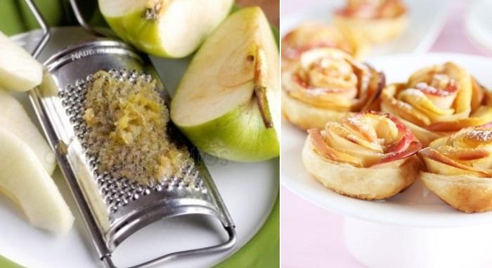 яблочное печенье на растительном масле