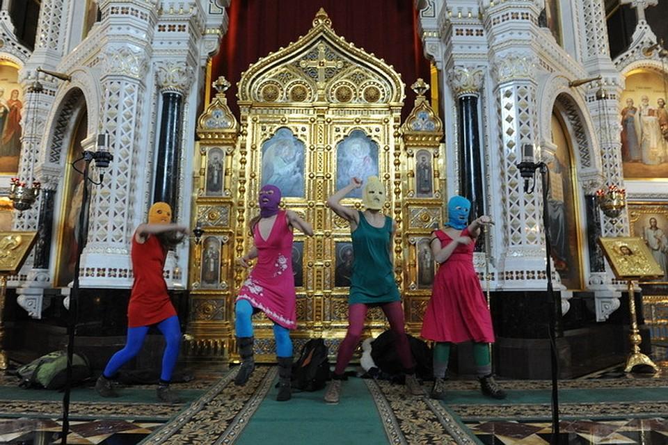 РФ выплатила Pussy Riot 37 тысяч евро по делу об акции в храме Христа Спасителя