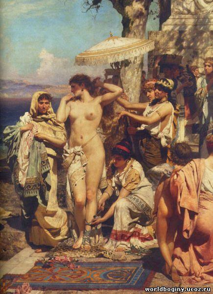 Гетера Фрина - земное воплощение Афродиты